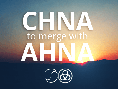 CHNA to merge with AHNA. Stay tuned for registration process.