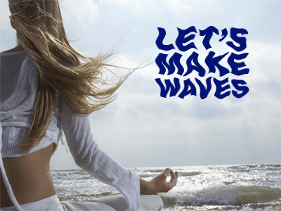 Let's Make Waves – World Water Day 2018