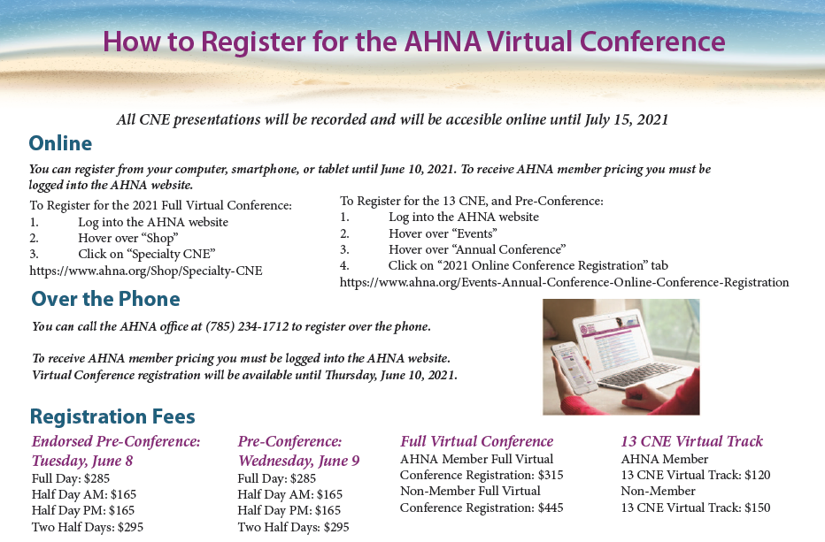 AHNA 2021 Full Virtual Conference